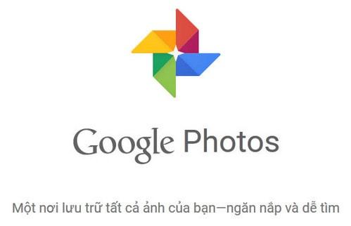 cai dat google photos tren may tinh