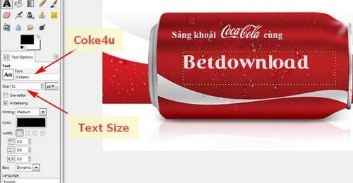 Dành cho những ai thích viết tên lên lon Coca, bia Heineken :D