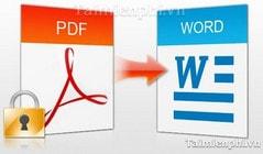 doi pdf sang word