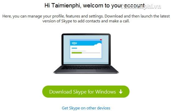 Đăng ký Skype, Cách tạo tài khoản Skype cho người mới