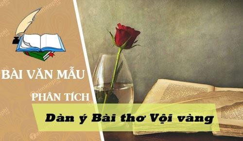 lap dan y phan tich bai tho voi vang
