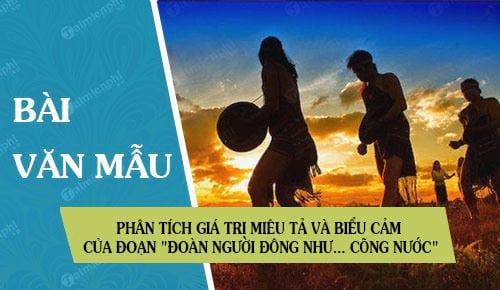 phan tich gia tri mieu ta va bieu cam cua doan doan nguoi dong nhu cong nuoc trong chien thang mtao mxay