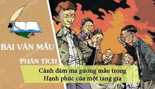 phan tich canh dam ma guong mau trong hanh phuc cua mot tang gia