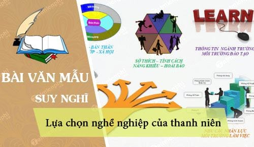 suy nghi ve viec lua chon nghe nghiep cua thanh nien hien nay
