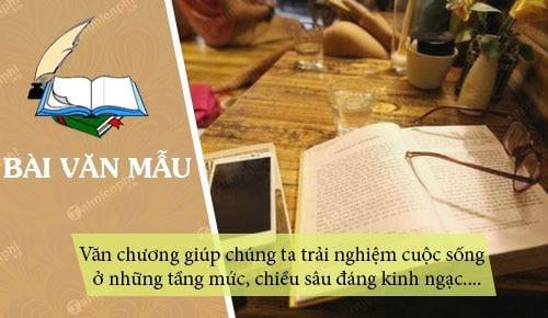 nghi luan ve cau noi van chuong giup chung ta trai nghiem cuoc song o nhung tang muc va nhung chieu sau dang kinh ngac