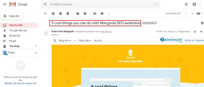 huong dan cach chan quang cao tren gmail