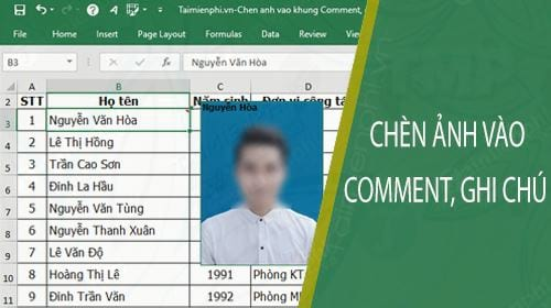 huong dan chen hinh anh vao khung comment ghi chu trong excel