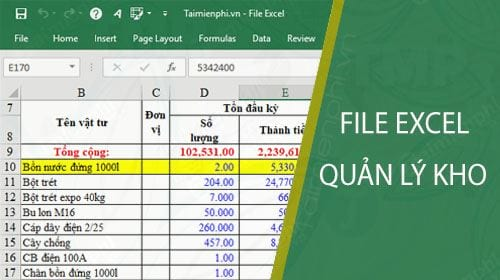 file excel quan ly kho