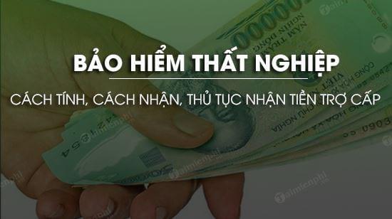 bao hiem that nghiep la gi cach tinh cach nhan thu tuc nhan tien tro cap