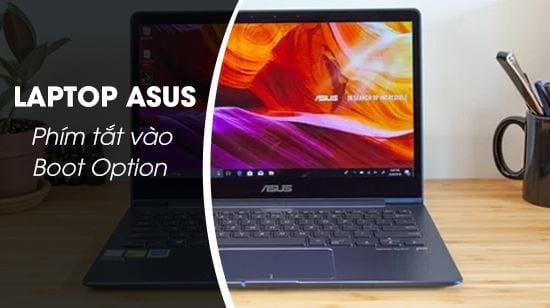 phim tat vao boot option laptop asus