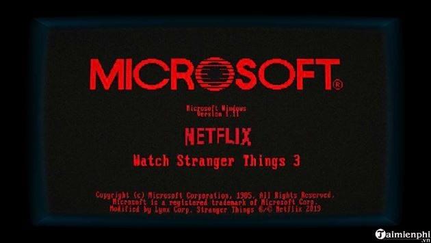 microsoft ra mat windows 1 11 stranger things