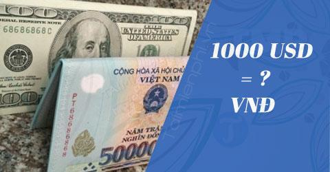 1000 usd my bang bao nhieu tien viet nam 1000 usd vnd