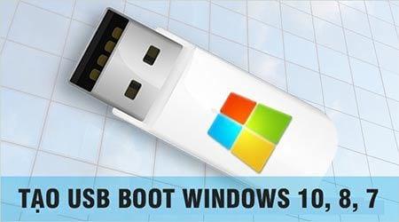 cach tao usb boot windows 10 8 7