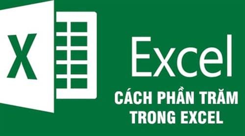 cach tinh phan tram trong excel