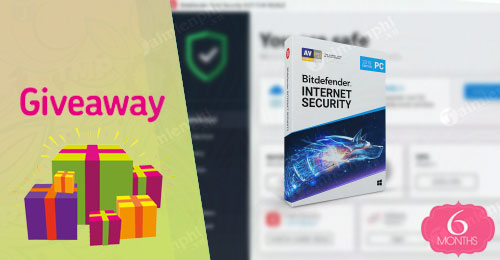 giveaway ban quyen mien phi bitdefender internet security 2019