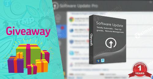 giveaway ban quyen mien phi software update pro