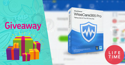 giveaway ban quyen mien phi wise care 365 pro