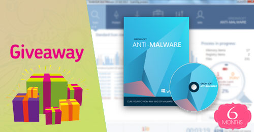 giveaway ban quyen mien phi gridinsoft anti malware