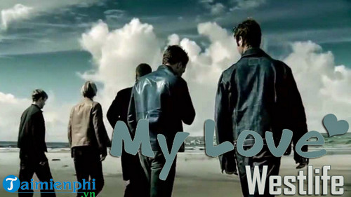 loi bai hat my love westlife 2