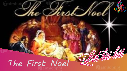 loi bai hat the first noel