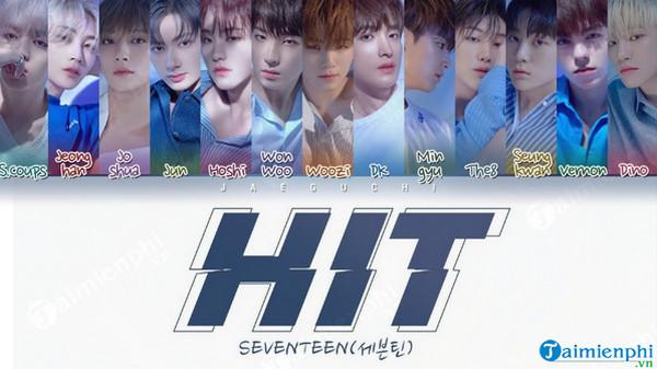 loi bai hat hit seventeen