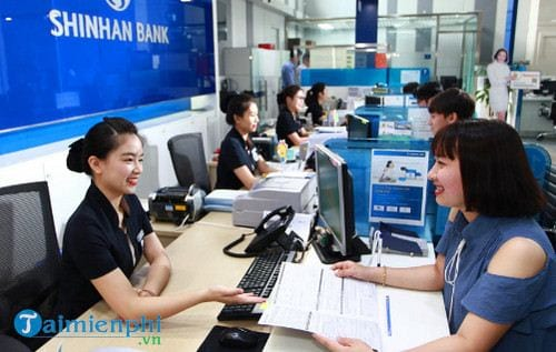 shinhan bank la ngan hang gi