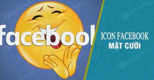 icon facebook mat cuoi