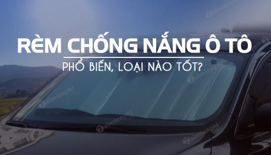 rem che nang o to loai nao tot co loai nao dia chi ban