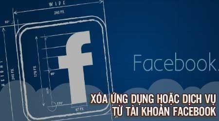 xoa ung dung hoac dich vu tu tai khoan facebook