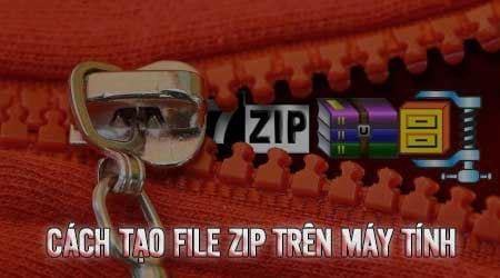 Kết quả hình ảnh cho Cách tạo file zip trên máy tính