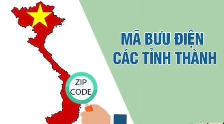 ma buu dien cac tinh ma buu chinh zip postal code cac tinh cua viet nam