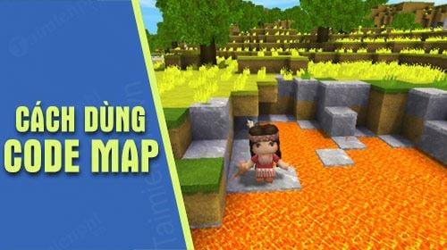 Code map trong Mini World Block Art nhiều người dùng