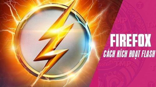 cach kich hoat flash player tren firefox