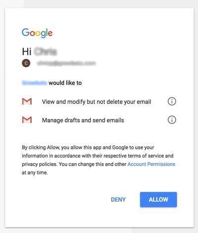 cach xem ung dung nao dang doc mo gmail cua ban