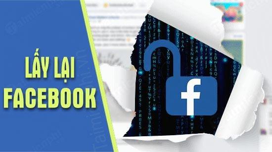huong dan lay lai facebook bi hack pass va mat email dang ky