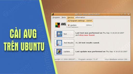 cach cai avg antivirus tren ubuntu