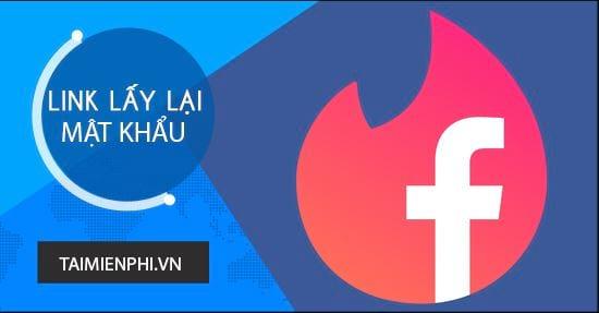 link mo khoa facebook khi quen mat khau