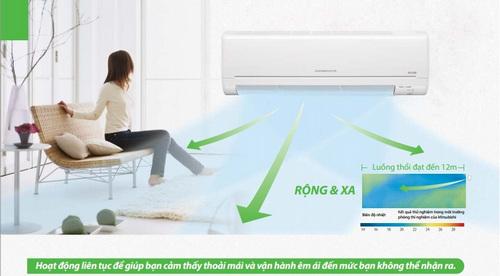 cách tính công suất điều hòa, hướng dẫn tính công suất máy lạnh theo diện tích phòng