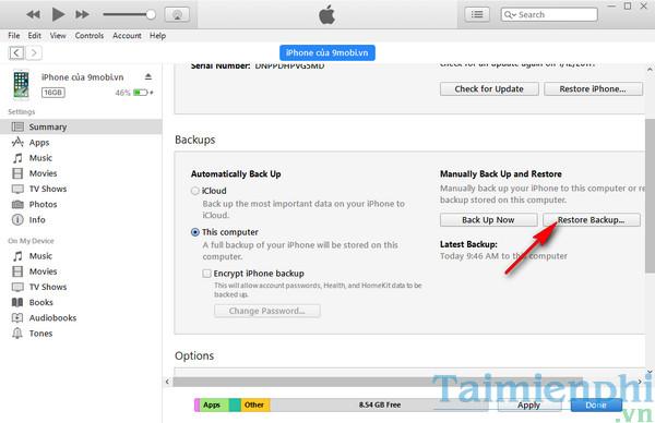 Cách sao lưu dữ liệu từ iPhone cũ sang iPhone mới