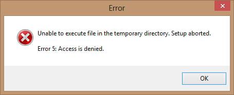 sua loi error 5 access is denied khi cai gta v