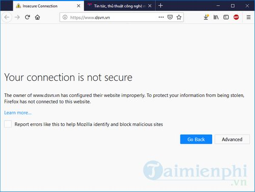 Cách sửa lỗi SSL