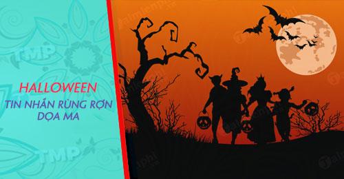 tin nhan halloween