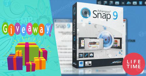 giveaway Ashampoo Snap 9