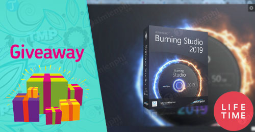 giveaway ashampoo burning studio 2019