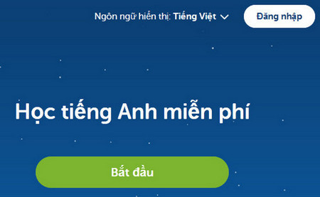 duolingo ung dung hoc tieng anh mien phi cuc hay