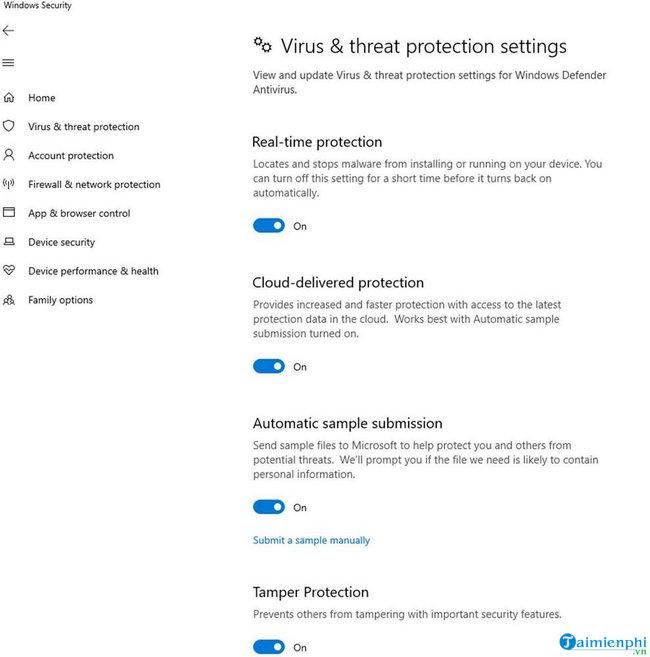 microsoft windows defender atp bo sung tinh nang tamper protection moi