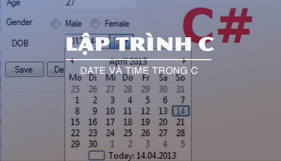 date va time trong c