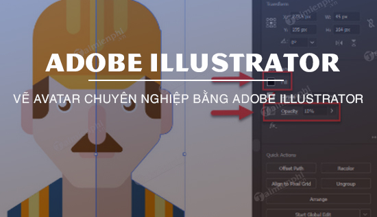 ve avatar bang adobe illustrator