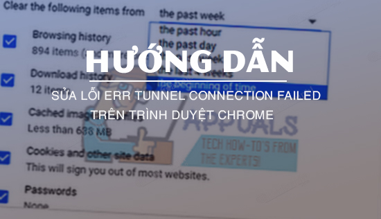 sua loi err tunnel connection failed tren chrome