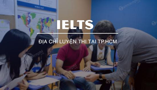Dia chi luyen thi IELTS tai TP HCM